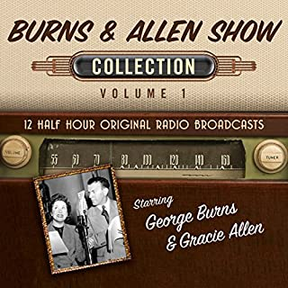 The Burns & Allen Show, Collection 1 audiobook cover art