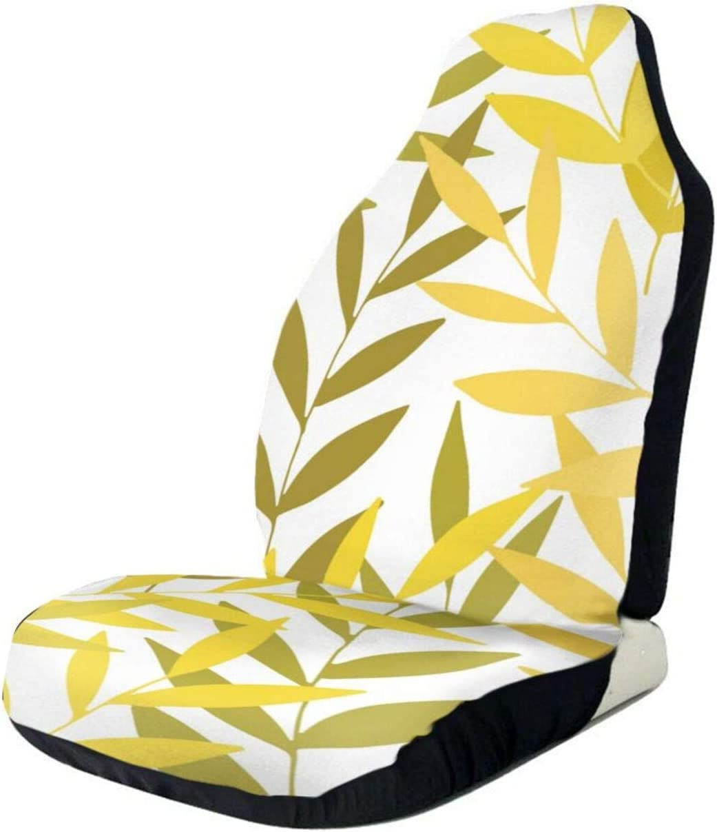 Gold Leaves Jacksonville Mall Lovely Front Car Over item handling ☆ Seat Covers Seats