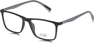 Retro Unisex Spectacle Frames Rectangular 5603 M.Black/Grey, 51