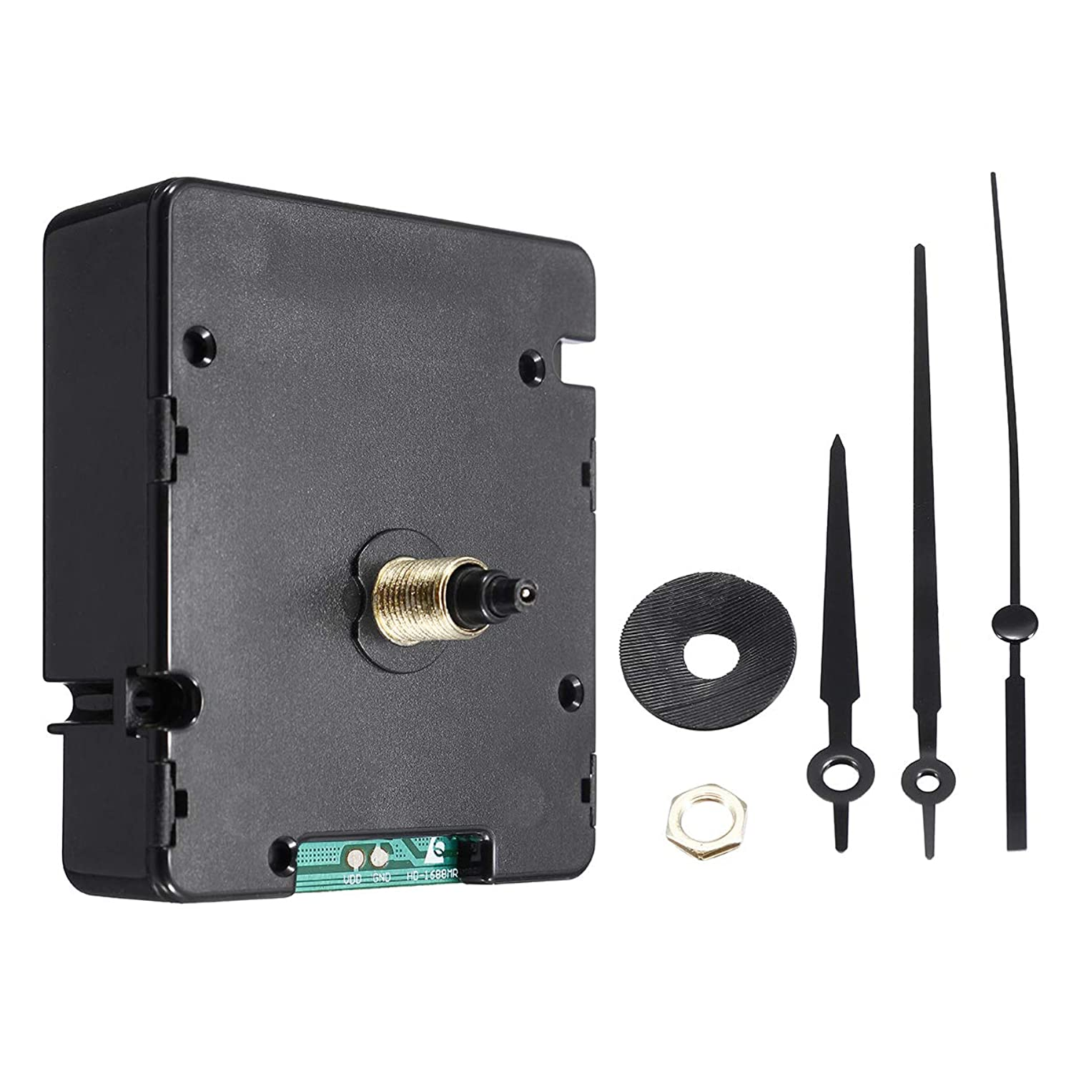 Pukido Atomic WWVB Signal Radio Controlled Clock Movement Kit For America Mexico Canada