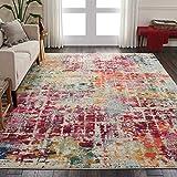 Marca de Amazon - Movian Dospat, alfombra rectangular, 320 de largo x 238,8 cm de ancho (diseño geométrico)