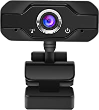 1080P Webcam with Microphone,USB HD Webcam Computer Camera,Plug and Play,for Zoom Meeting YouTube Skype Face Time Online C...