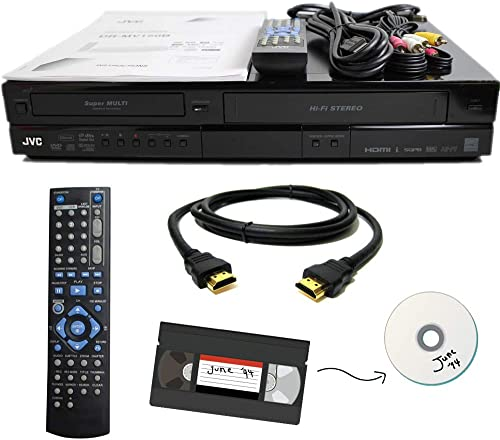 JVC VHS to DVD Recorder VCR Combo w/ Remote, HDMI product image