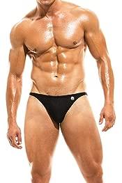 Jim #18 Competition High Cut Classic Bikini Black