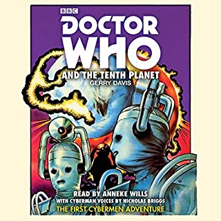 Doctor Who and the Tenth Planet audiobook cover art