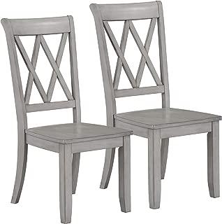 Standard Furniture Vintage Side Chairs, Grey