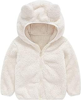 BOGIWELL Unisex Baby Girl Boy Autumn Winter Soft Furry Thick Bear Sweater Coat