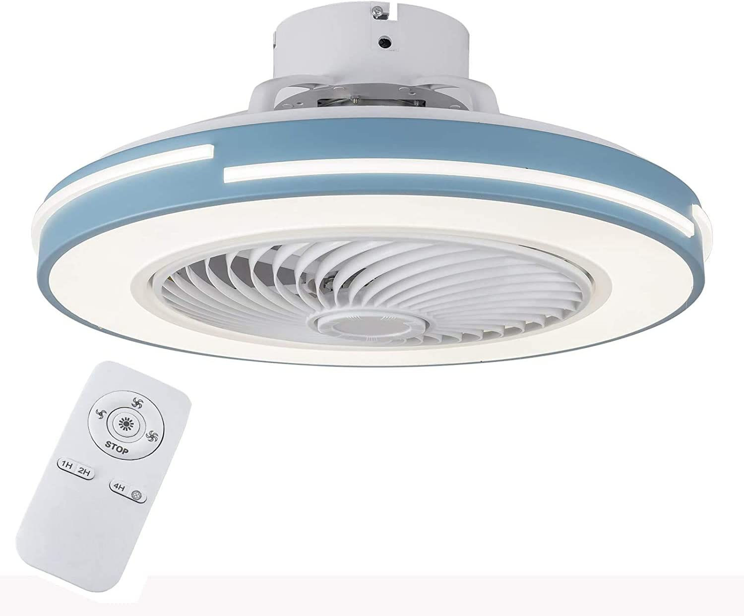 TFCFL Nashville-Davidson Mall Modern 20 Inch Ceiling Fan Lights Free shipping / New Colors with LED Dimmin 3