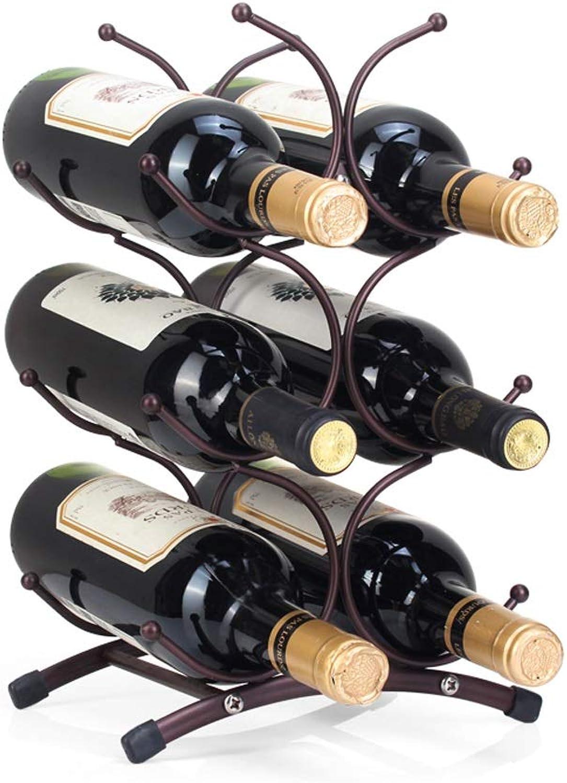 Para tu estilo de juego a los precios más baratos. LI Ming Shop Estantería Creativa para Vino Decoración Minimalista Moderna Moderna Moderna Botella De Vino Estante Vinoteca Decoración Adornos  barato y de alta calidad