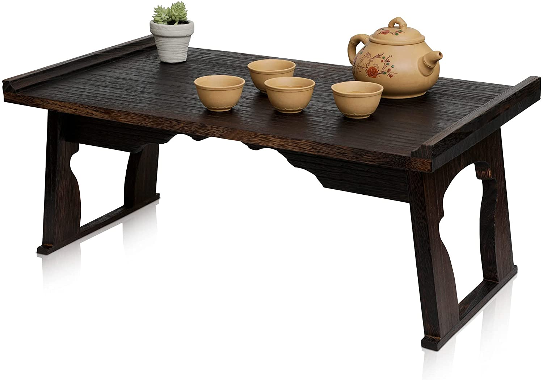 Kiri Meditation Table - Japanese 直送商品 Altar Style Med for Floor 最新アイテム