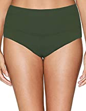 Saejous Women's High Waisted Swim Bottoms Plus Size Tankini Bottoms Tummy Control Swimwear Briefs
