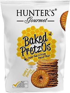 Hunter's Gourmet Baked PretzOs, Honey & Mustard, 70 gm