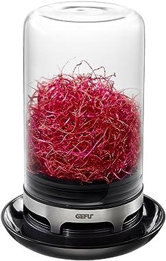 GEFU GEF-18910A Bivita Sprouting Jar, Black
