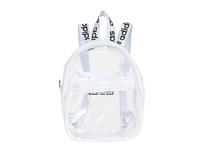 adidas Clear II Mini Backpack (Clear/White/Black) Backpack Bags