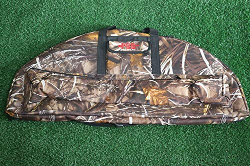 UUS 38'' Compound Bow Bag Oxford Archery Hunting Arrow Carry Bag Case Bow Holder