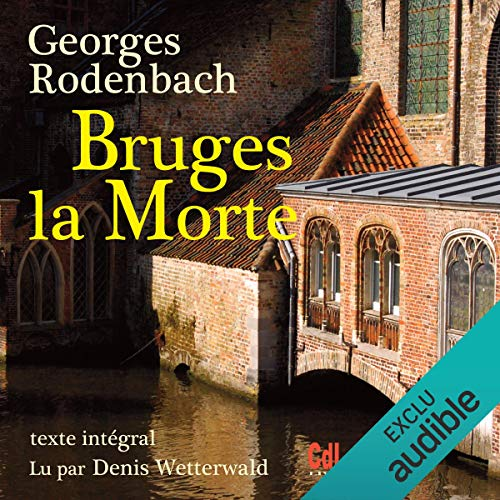Bruges la morte audiobook cover art