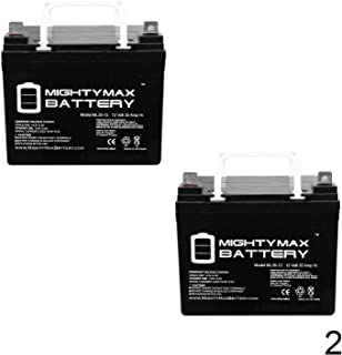 Mighty Max Battery ML35-12 - 12V 35AH Battery for Pride Jazzy Select Electric Wheelchair - 2 Pack Brand Product