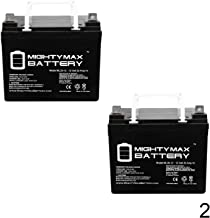 Mighty Max Battery 12V 35Ah Pride Mobility Jazzy Select 6 Replacement Battery - 2 Pack Brand Product