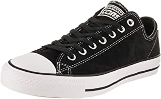 a46b4a1d2202f1 Converse Unisex Chuck Taylor All Star Ox Black Black Suede Casual Shoe 10  Men