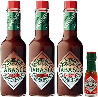 Chipotle Tabasco 57ml - Pack of 3 and Mini Tabasco