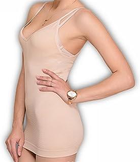 f09624dd80 Robert Matthew Transforming Women s Shapewear Full Slip Tank Top Underwear Body  Shaper