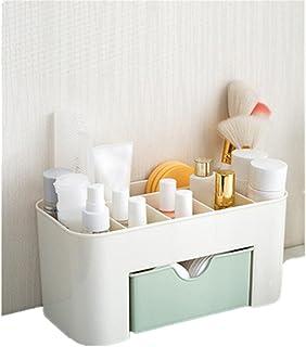 Bonjouree Tiroir de Rangement Bureau Maquillage Cosmétique Supports Boîte économiser de l'espace + Nettoyant pour Pinceaux...