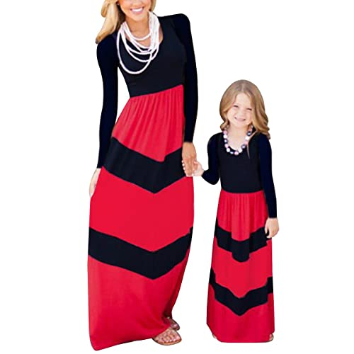 Red Stripes Heart Tie Love Cute Baby Long Sleeve Gown