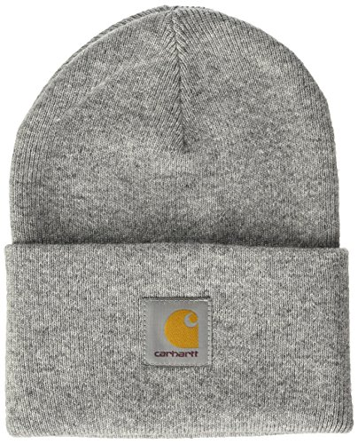 Carhartt Acrylic Watch Hat Chapeau Fedora, Gris (Grey Heather), Unique (Taille Fabricant: Taglia Unica) Mixte