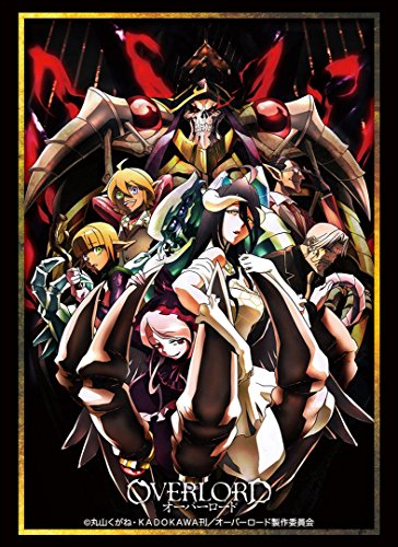 Over Lord Full Cast Albedo Trading Card Game Character Sleeve Collectible Anime Art Vol.1462 image