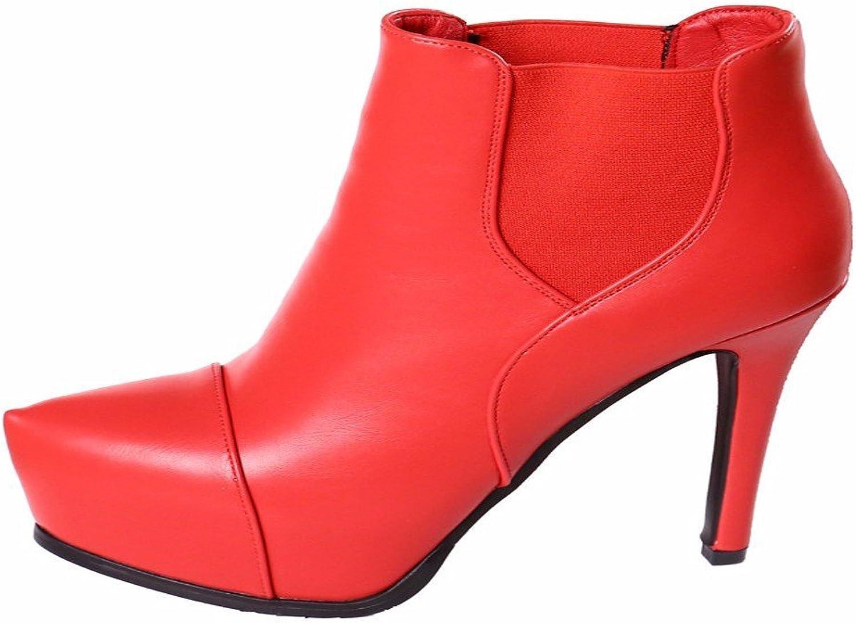 HBDLH Damenschuhe Sexy Sexy Sexy Rot und 11Cm High Heels Mode Nachtclubs Stiefel Ritter - Stiefel. 5c9
