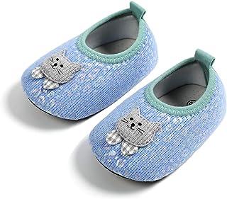 DEBAIJIA Scarpe Bambino 1-5T Principiante Bambini Materiale PVC Suola Morbida Traspiranti Antiscivolo Cotone