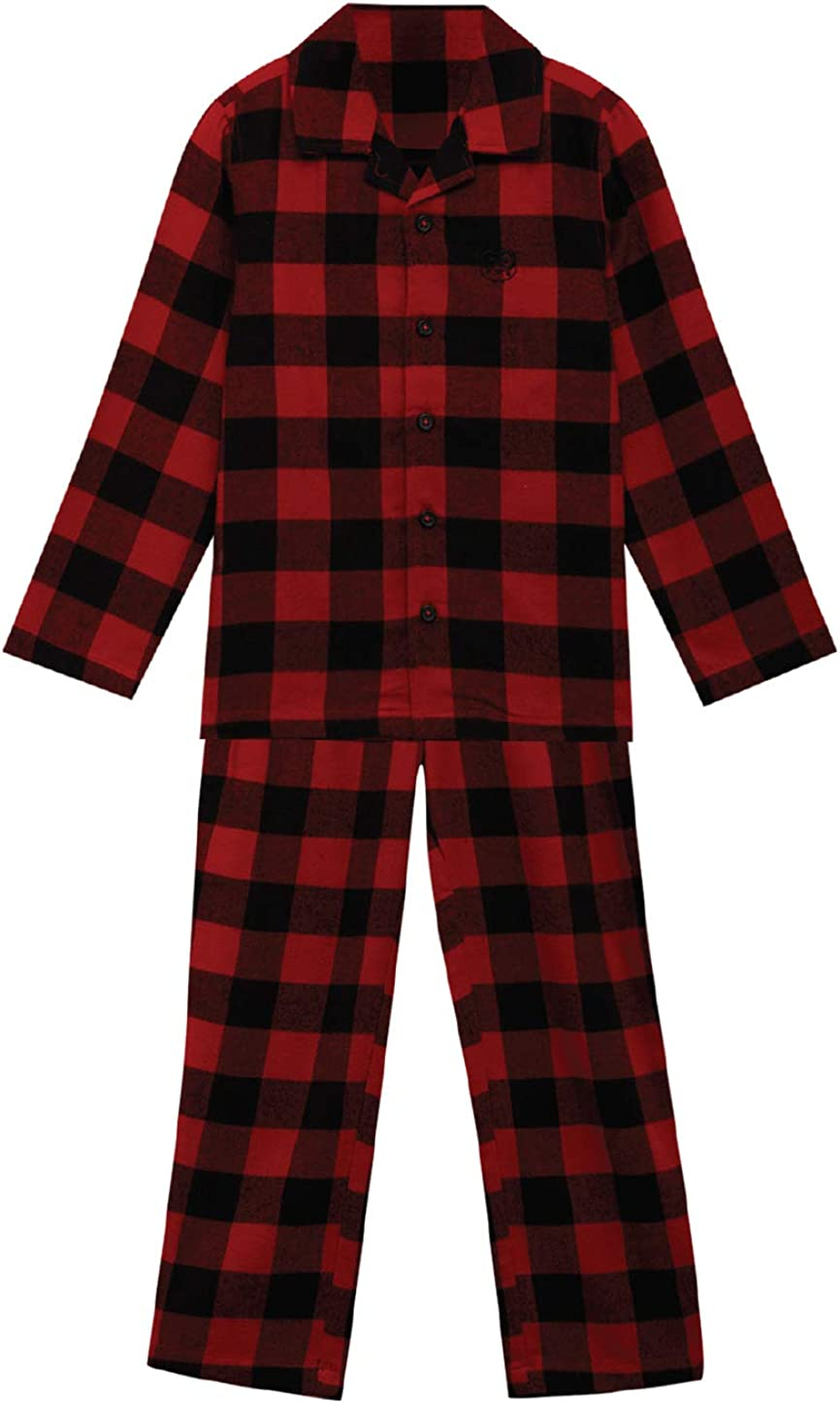 Under Fourteen Only Child Unisex Cotton Night Suit Red Flannel Check (12-13 YRS)