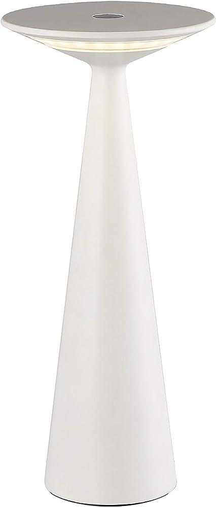 Cristher lighting,lampada portatile, luce regolabile, con usb,in alluminio BLOMMA