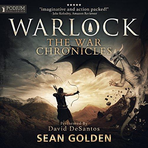 Warlock audiobook cover art