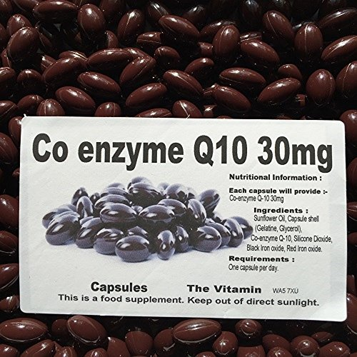 The Vitamin Co-Enzyme Q10 30mg (365 Capsules - Bagged)