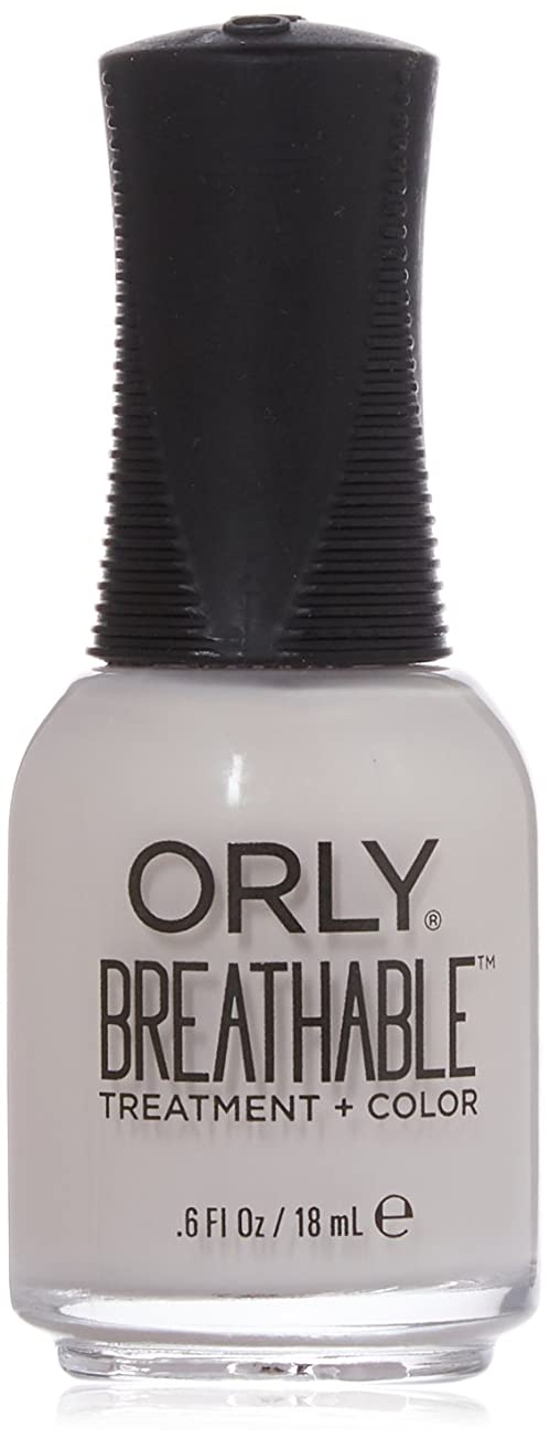 チャネルメモ信念Orly Breathable Treatment + Color Nail Lacquer - Light as a Feather - 0.6oz / 18ml