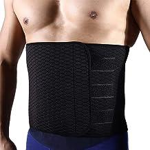 قهرمان ریش تراشی دور کمر، رشته کمر ابریشم Neoprene Adjustable کمربند Widened Ab برای مردان - کاهش وزن و پشتیبانی پشت