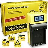 PATONA LCD Cargador para EN-EL23 Bateria compatible con Nikon Coolpix P600, P610, P900, S810c