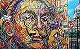 OSDFN Rompecabezas clásico de 3000 Piezas: Retrato de Rostro Humano Abstracto, Arte, Regalo Educativo, decoración del hogar, Rompecabezas Grande