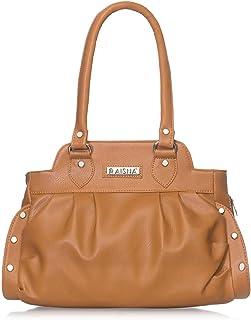 Aisna Women's Zara Handbag (Tan)(ASN-146)