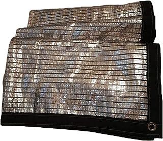 BAIYING オーニングシェード遮光ネットバルコニー日焼け止め反射性温室カバーメタルバックルアルミホイル21サイズ、カスタマイズのサポート (色 : シルバー しるば゜, サイズ さいず : 3X6m)