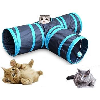 猫 トンネル 猫 おもちゃ 3通 キャットトンネル ペット玩具 折りたたみ式 猫用おもちゃ ウサギとんねる ペット運動不足対策
