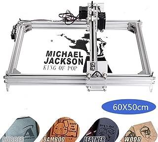 Kelife DIY CNC Laser Engraver Kits, 60x50cm 1000mW Wood Carving Engraving Cutting Machine Desktop Printer Logo Picture Marking, 2 Axis