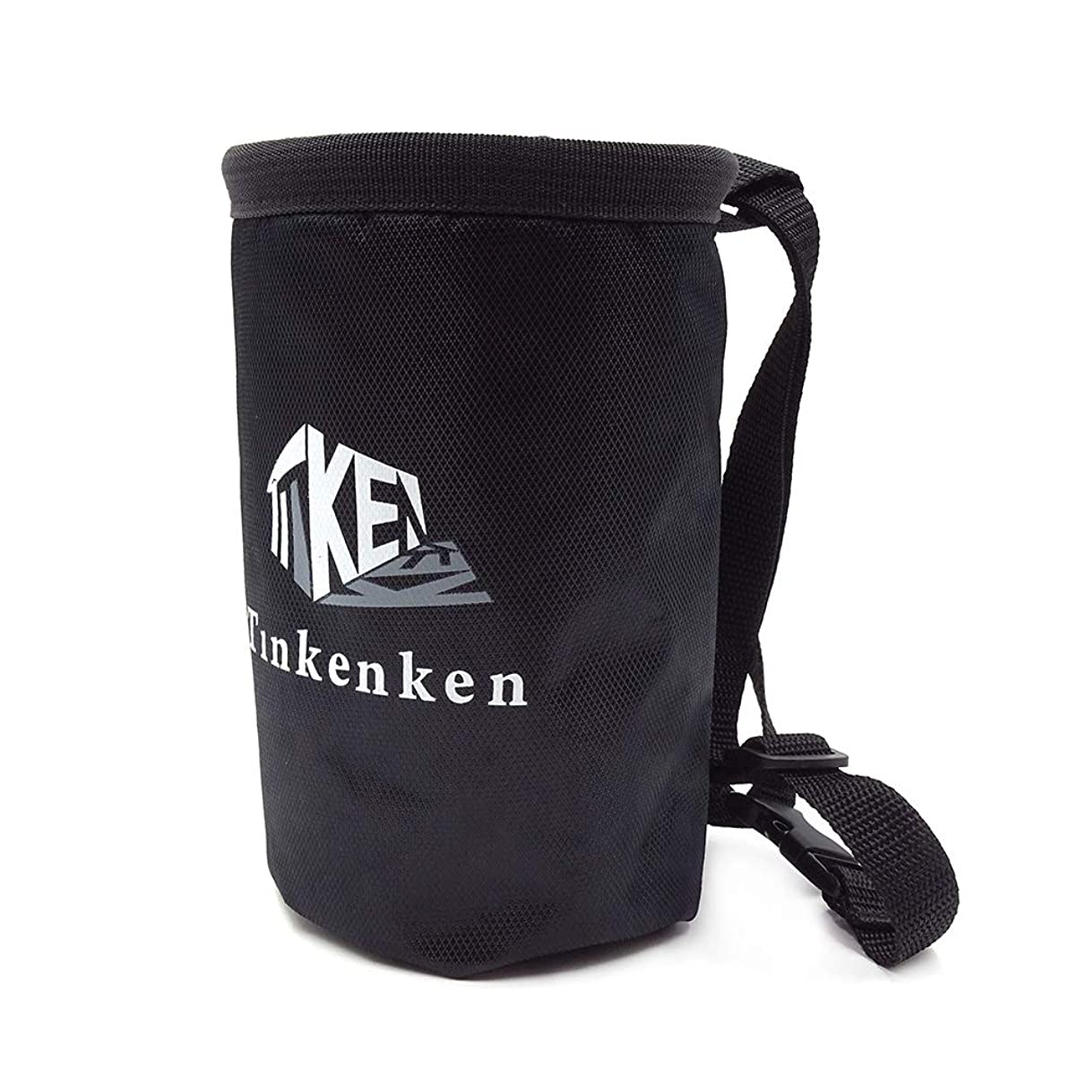 Tinkenken Chalk Bag for Rock Climbing with Adjustable Belt and Zippered Pocket for Weight Lifting Bouldering Gymnastics