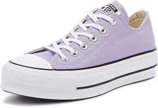 Converse Chuck Taylor All Star Lift Womens Washed Lilac Ox Trainers