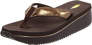 Women's Cafe Metallic Thong Sandal
