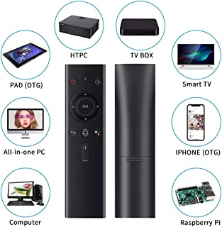 Calvas High Stability Handheld TV BOX Plug And Play Remote Control Sensor Air Mouse 2.4G Indicators Keyboard Wireless With Receiver