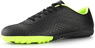 Hawkwell Men's Turf Soccer Shoes Outdoor/Indoor Comfortable Soccer Cleats