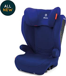 Diono Monterey 4 DXT Latch, The Original Expandable Booster Seat, 40-120 lbs, Blue