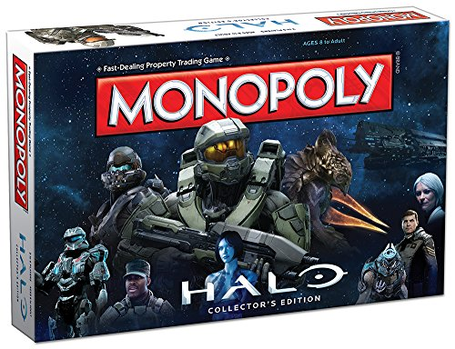 Monopoly: Halo Collector s Edition Board Game